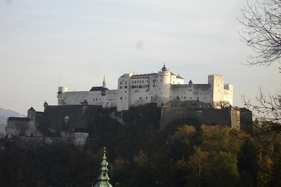 Castle above Salzburg