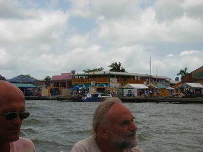 Waterfront of Belize City