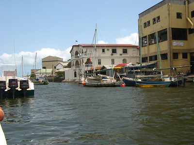 Leaving Belize City