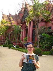 Sara's guidebook is on its last leg