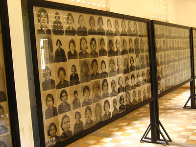 All of these women were murdered in the killing fields after torture and interrogation in this prison