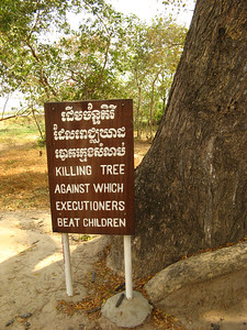 Mass graves of the Killing Fields