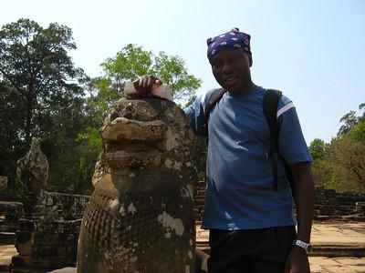 Julius and his Lion friend