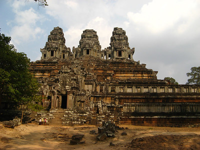 Ta Keo. Construction of this temple was stopped abruptly by the Angkor King when it was struck by lightening (an ominous sign)