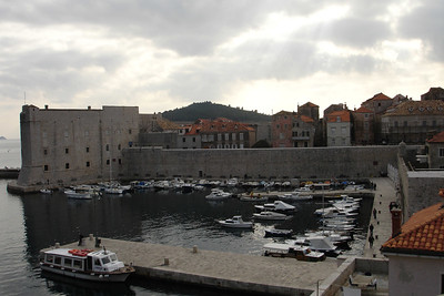 Calm harbor at the old town