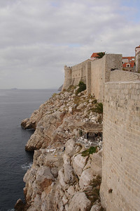 Fortress walls around Old Town Dubrovnik