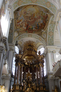 St Peter's Church. Very Baroque.