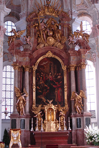 Theatinerkirche in Munich. Another very Baroque church.