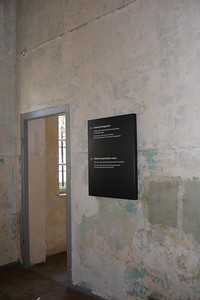 One of the rooms where medical experiments were done