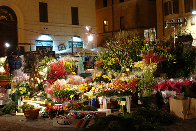 "The flower market at ""flower sellers square"""