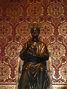 Statue of St Peter