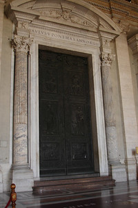 Door to St Peters