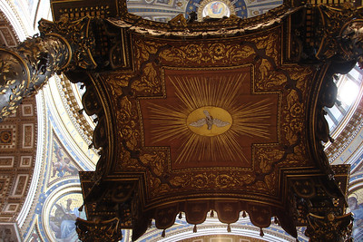 The canopy of the main altar