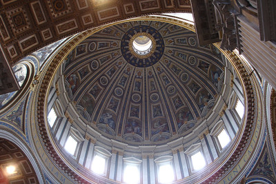 The dome of St Peters