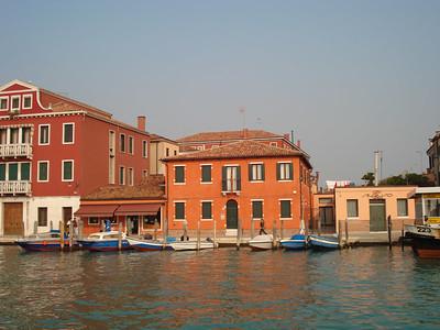 Mom's photos of coming into Venice
