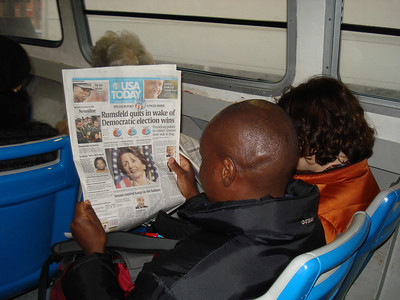 Reading about the Democrat victories on the Vapretto ferries