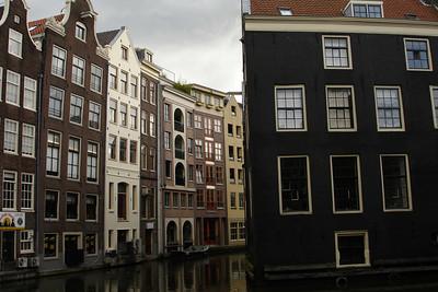 Amsterdam canal scenes