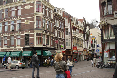 Central Amsterdam (one of many tourist ghettos)