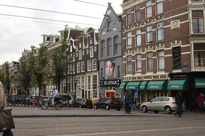 Central Amsterdam (more respectable street)