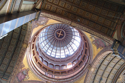 Lovely Dome of the church. Take that, Dutch Reformed Church!