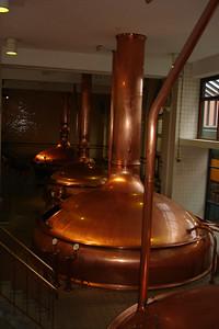 Mixing vats in the heieneken Museum