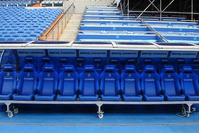Where the Real Madrid players sit