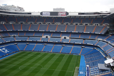 Santiago Bernabeu Stadium, home of Real Madrid