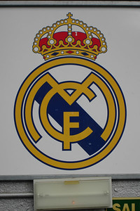 Real Madrid football club emblem