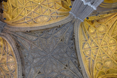 Cathedral of Sevilla, the third largest church in Europe after St Peter's in Vatican city and St Paul's in London