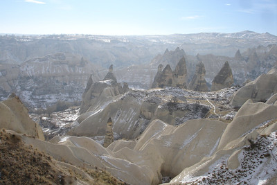 Valley of the Pigeons near the town of Goreme