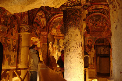 """This was called the """"Dark Church"""" because of the lack of light entering it. The positive side of this is that it preserved the frescoes."""