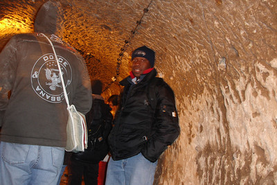The underground city, used when the area was under attack from various invaders from the east