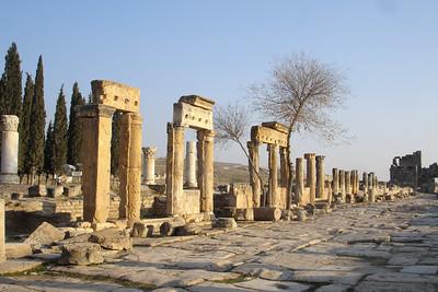 The main road through Hieropolis