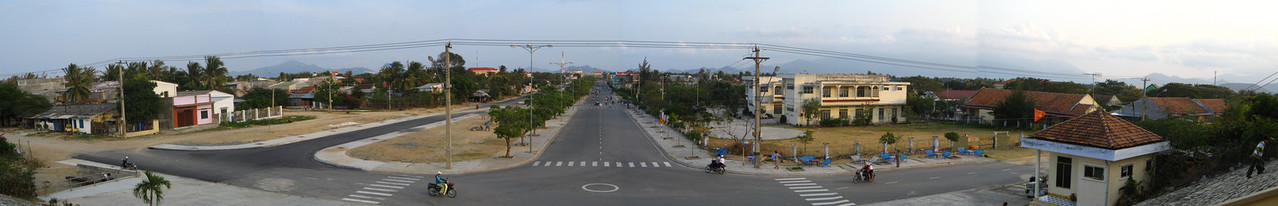 Cam Ranh city from above