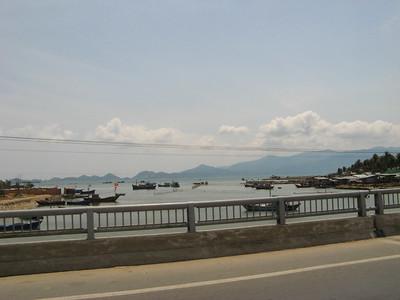 A bridge on the edge of town