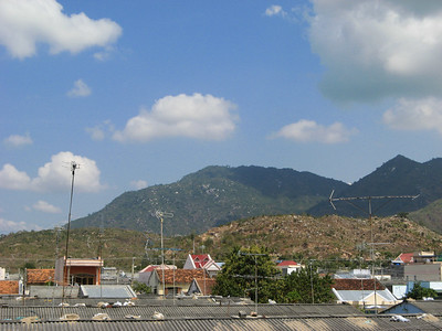Coming into Cam Ranh district