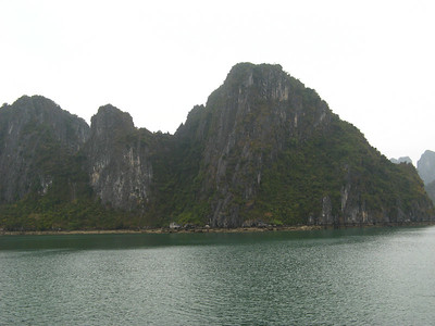 Some of the 1969 islands in the bay