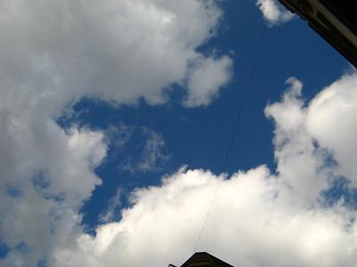 Lovely blue sky (no smog!)