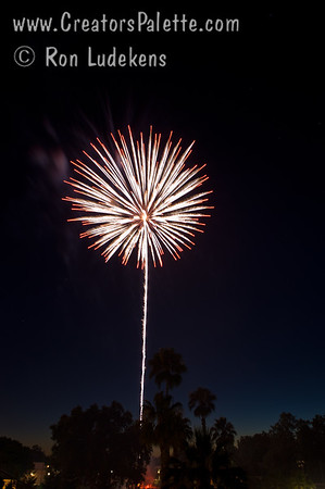 Images from July 4th Fireworks by City of Visalia