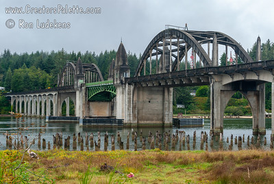 Siuslaw River Bridge - Florence Oregon