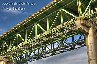 I-5 Bridge over North Umpqua River near Winchester, Oregon