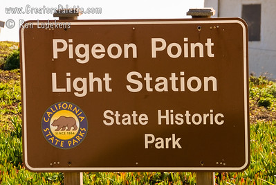 Pigeon Point Light Station Approximately 50 miles south of San Francisco right off Highway 1.