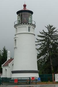 Umpqua River Lighthouse - 6 miles south or Reedsport. 65 foot tower.