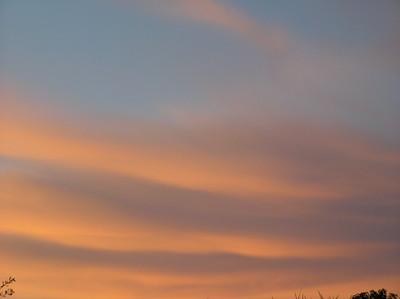 Evening Pink Clouds 3