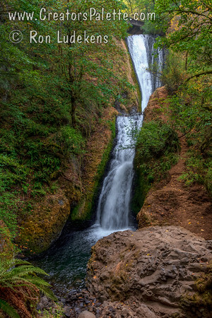 Bridal Veil Falls - Columbia River Gorge, Oregon