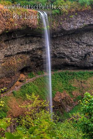 South Falls - Silver Falls State Park, Oregon