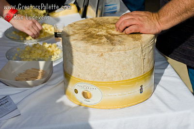 Cheese tasting - by Fiscalini Farmstead.