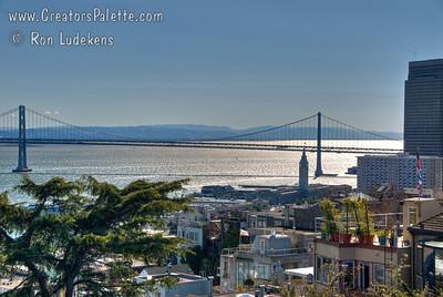 The Bay Bridge (San Francisco - Oakland Bay Bridge)