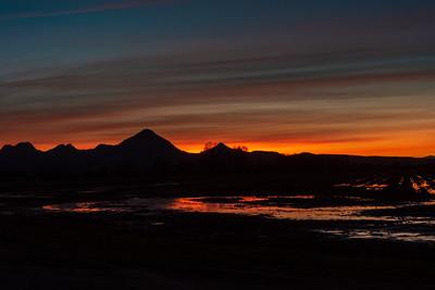 Sutter Buttes Sunset