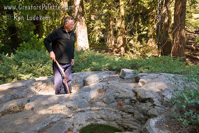 John helps give perspective - these are not little grinding holes, but big as bath tubs.